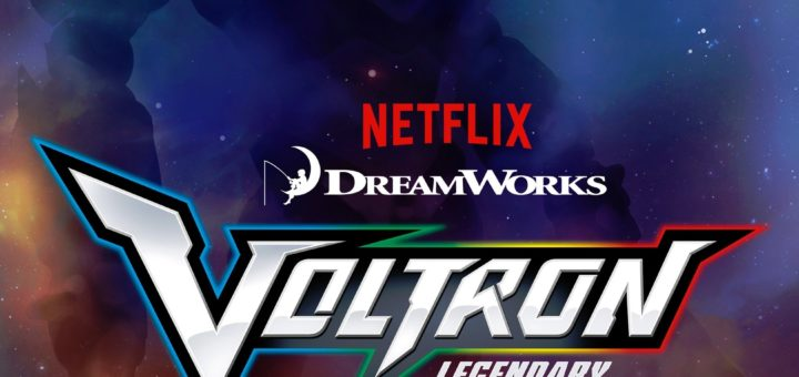 Voltron Legendary Defender teaser poster