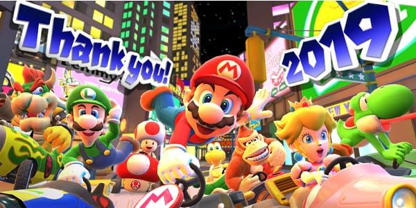 Mario Kart Tour new years