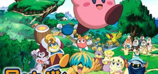 kirby anime poster Kirby right back at ya poster