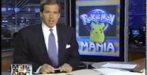 Pokemon Mania 1999 fad