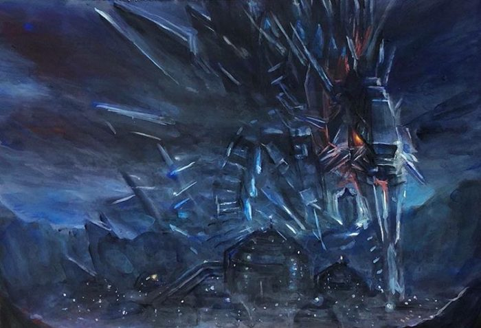 mecha godzilla city anime