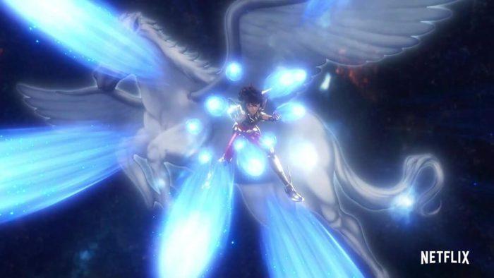 Ryu Sei Ken Pegasus Netflix saint seiya