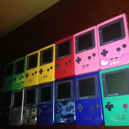 Game Boy Pocket Collection