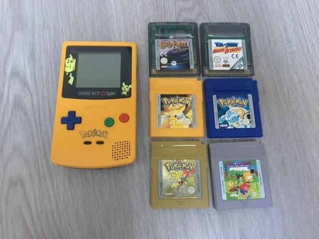 game boy color pokemon