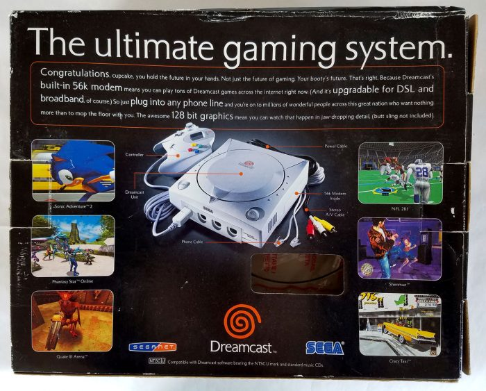 dreamcast box back