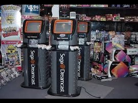 dreamcast kiosk