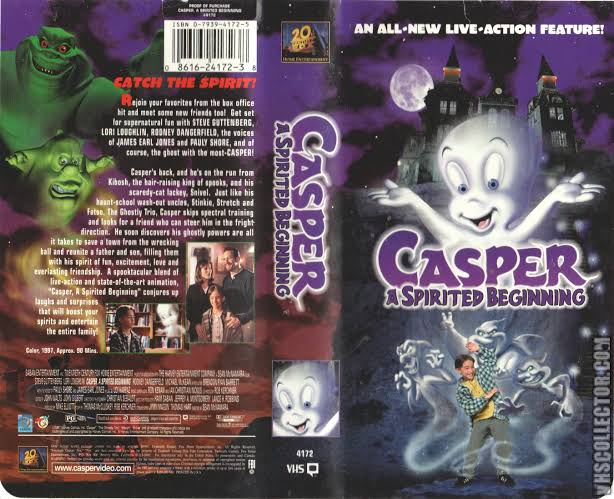 casper spirited beginning vhs