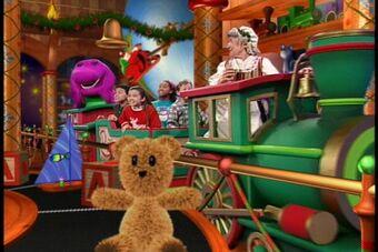 Barney Christmas Santa Claus