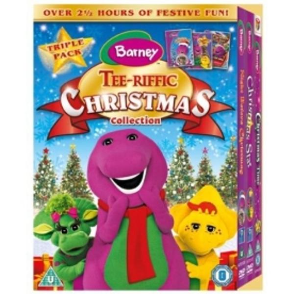 Barney Blu Ray DVD Collection Christmas
