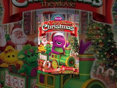 Barney Christmas Train