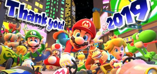 Mario Kart Tour new years