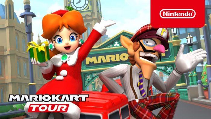 Mario Kart Tour themes
