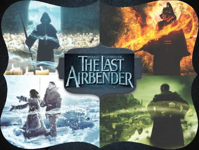 The Last Airbender Movie posters